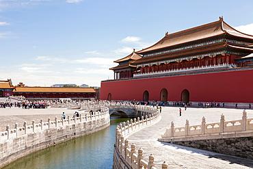 Urban canal in Tiananman Square - 1178-31611