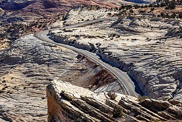 USA, Utah, Escalante, Scenic Highway 12 through Grand Staircase-Escalante National Monument