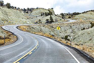 USA, Utah, Escalane, Scenic highway 12 through Grand Staircase-Escalante National Monument
