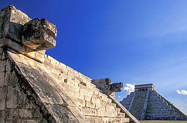 Mexico, Yucatan, Chichen Itza, Maya ruins