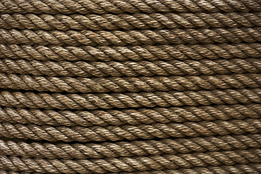 Still life closeup of rope