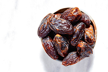 Close-up of dried dates