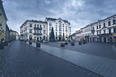 Poland, Lesser Poland, Tarnow, Building on old town square