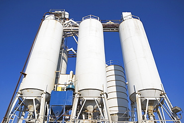Grain silos, Bayonne, New Jersey