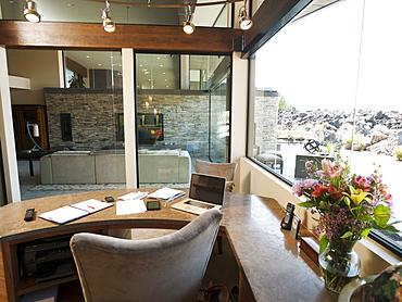Home office interior, USA, Utah, St George