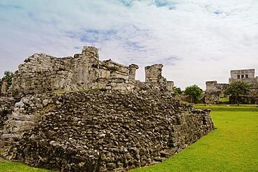Mexico, Tulum, ancient ruins