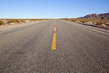 USA, Nevada, road through desert