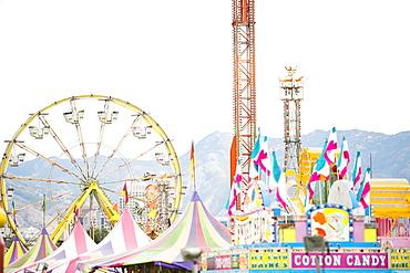 View of amusement park, USA, Utah, Salt Lake City