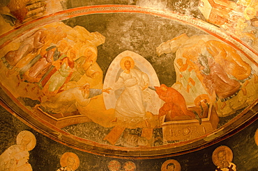 Turkey, Istanbul, Chora Church frescoes (interior)