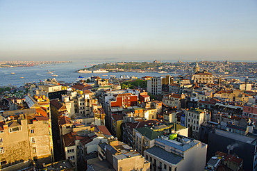 Turkey, Istanbul, high angle view of city