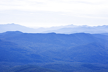 USA, New York State, View of Adirondack Mountains