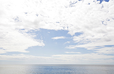 USA, Massachusetts, Clouds over Atlantic Ocean
