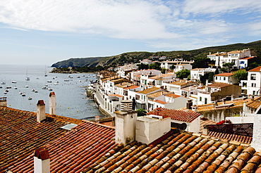 View of Cadaques, Spain, Catalonia, Costa Brava, Girona province, Cadaques