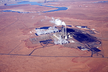 Coal fired steam plant