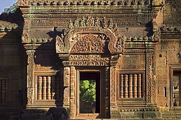 Ancient Temple Angkor Wat Banteay Srei Cambodia Khmer