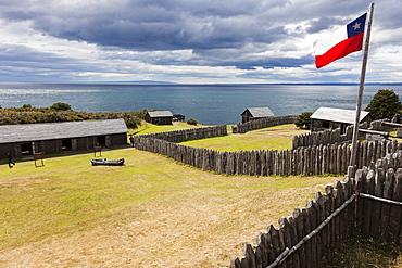 Fort Bulnes, Chile, Magallanes and Antartica, Fort Bulnes