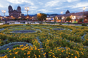 View to cathedral, Peru, Cuzco