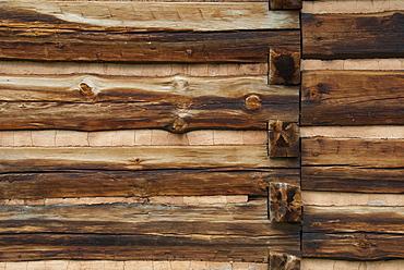 Wooden cabin, Zebulon Baird Vance birthplace
