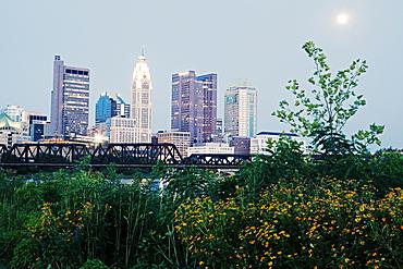 City skyline, Cleveland, Ohio