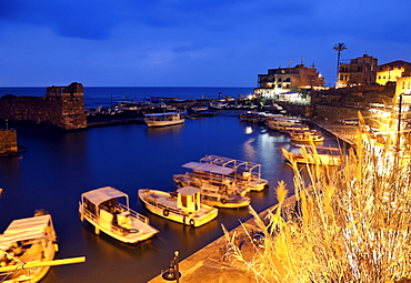 Harbour at dusk