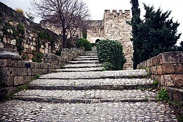 Crusaders castle ruins
