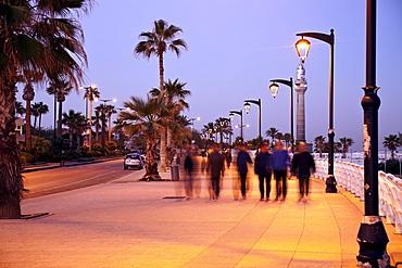 Corniche waterfront at sunrise