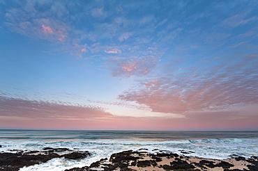 View of Cape Perpetua at sunrise