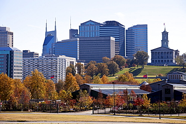 USA, Tennessee, Nashville, Downtown