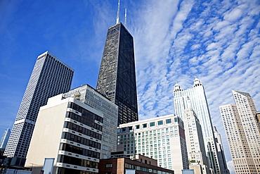 USA, Illinois, Chicago, Hancock Building