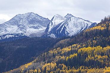 USA, Colorado, Chair Mountain, McClure Pass