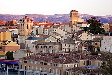 Spain, Segovia, Cityscape