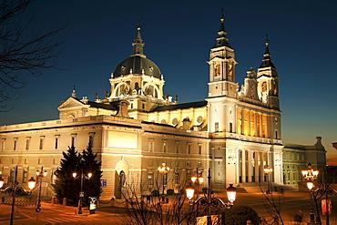 Spain, Madrid, Nuestra Senora de la Almudena
