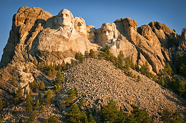 USA, Wyoming, Mount Rushmore