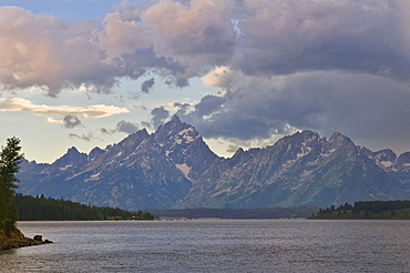 USA, Wyoming, Teton Range