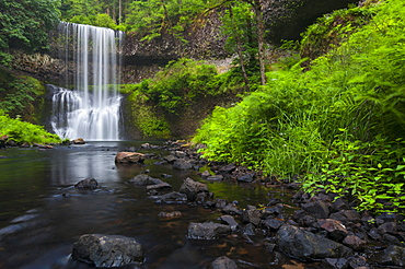 Lower South falls, Marion county, Oregon