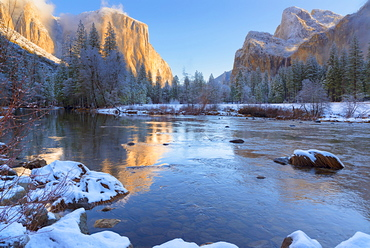 Yosemite Valley, El Capitan, USA, California, Yosemite Valley