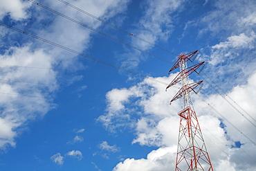 Oregon, Low angle view of electricity pylon