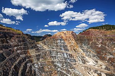 View of open pit, Lead, South Dakota