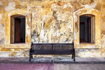 Castillo San Cristobal, San Juan National Historic Site, a national park in Old San Juan, Puerto Rico
