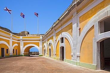 Morro Castle, Inner courtyard, El Morro, San Juan, Puerto Rico