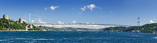 Turkey, Fatih Sultan Mehmet Bridge