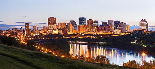 City skyline, Canada, Alberta, Edmonton
