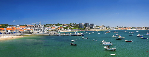 Ocean coastline, Cascais, Portugal