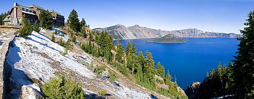 USA, Oregon, Crater Lake lodge