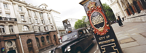 Cab in City of Westminster