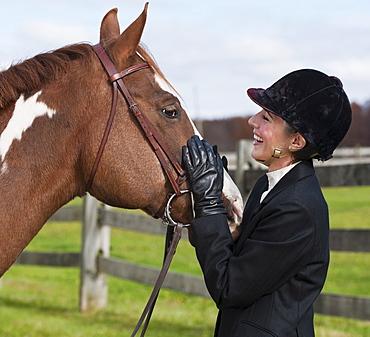 Equestrian rider