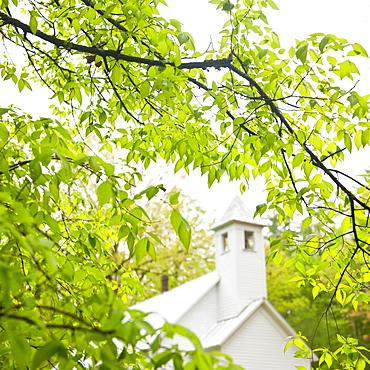 A church in Smoky Mountain National Park