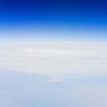 High altitude photo of Earth