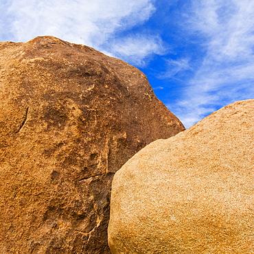 USA, California, Joshua Tree National Park, Detail of boulders, USA, California, Joshua Tree National Park