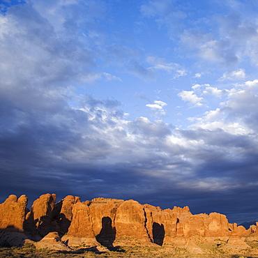 Garden of Eden Arches National Park Moab Utah USA